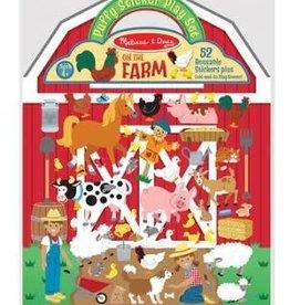 Melissa & Doug On the Farm, Puffy Stickers Play Set