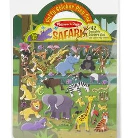 Safari, Puffy Sticker Play Set