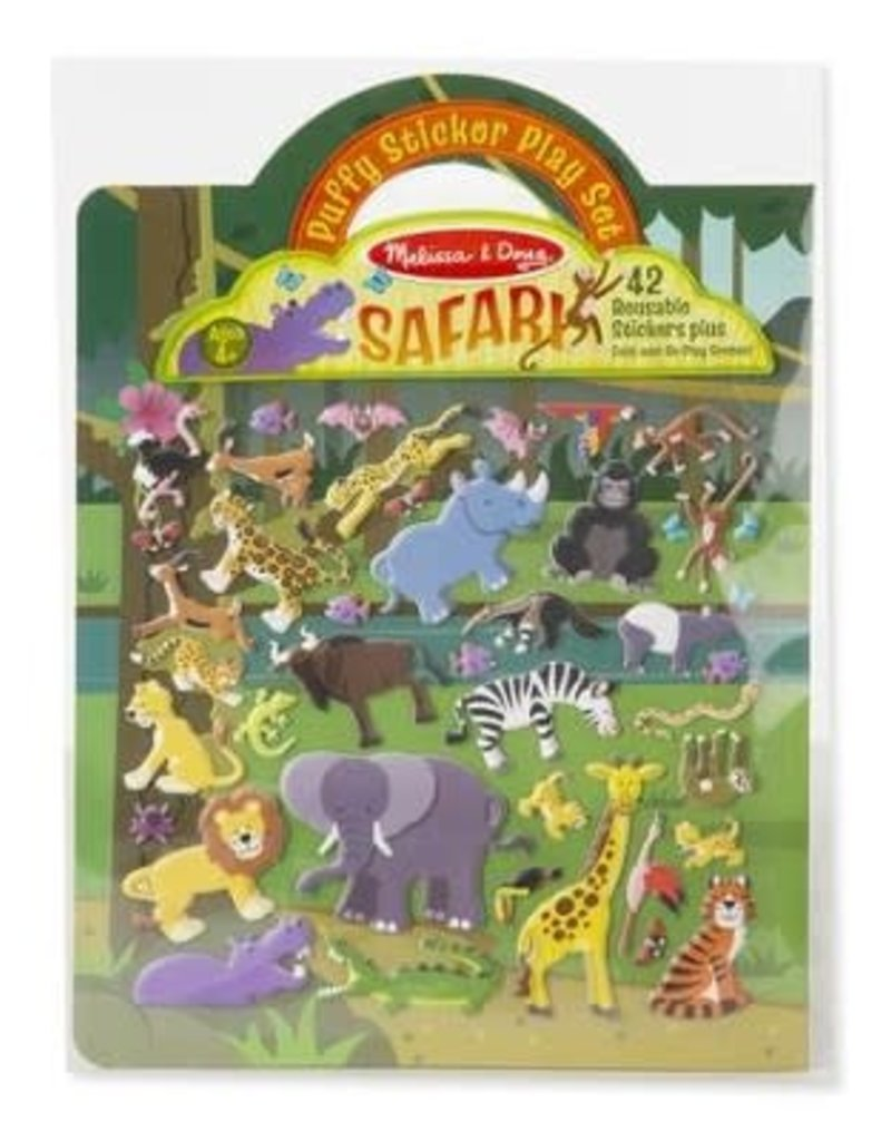 Safari, Puffy Sticker Play Set