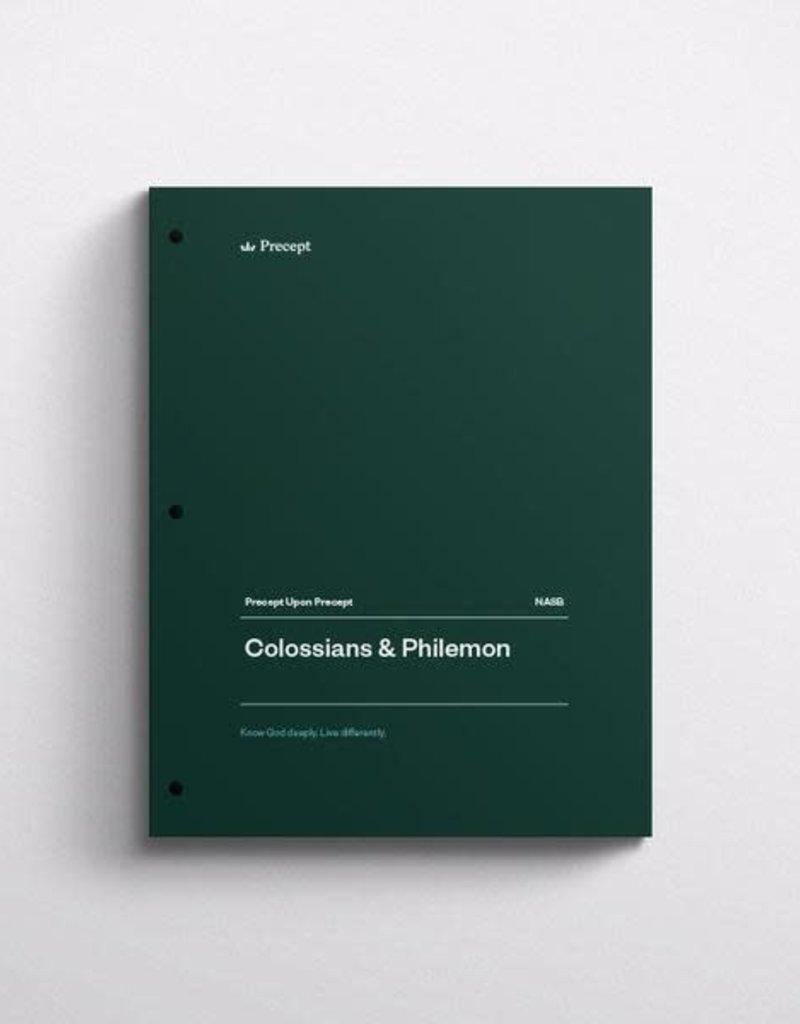Colossians & Philemon Precept Workbook (NASB)