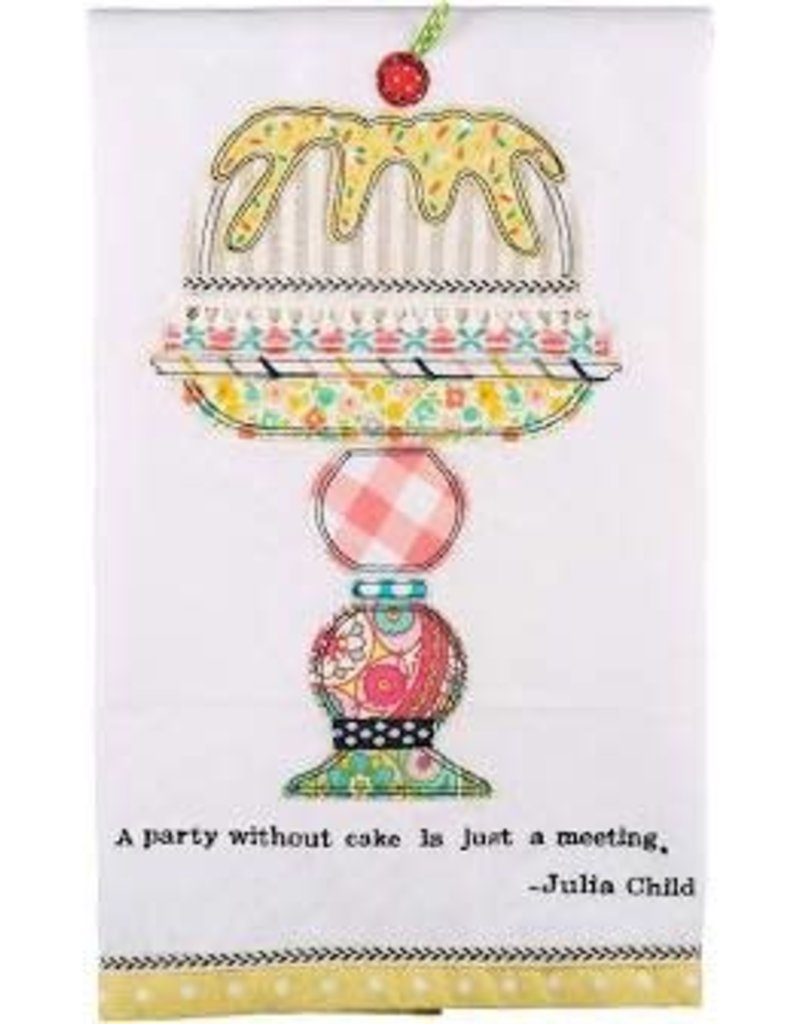 A Party Without Cake Tea  Towel