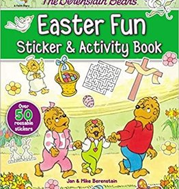 BERENSTAIN BEARS EASTER FUN STICKER AND ACTIVITY B