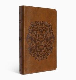 THINLINE BIBLE, Trutone, Brown, Royal Lion