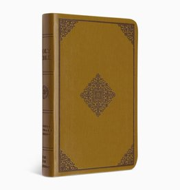 VALUE COMPACT BIBLE, TruTone, Goldenrod, Ornament Design
