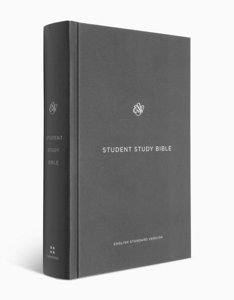 STUDY BIBLE, STUDENT , Hardcover, Gray