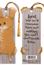 Cat/Lord Help Me Tassel Bookmark