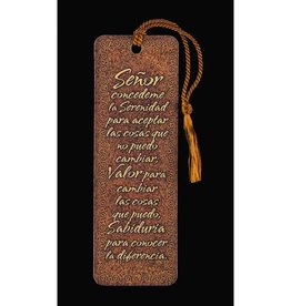 Bookmark- Serenity Prayer- Spanish