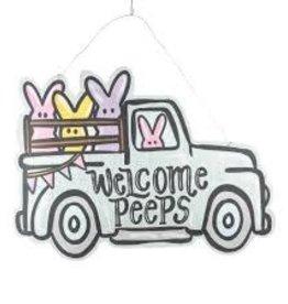 Welcome Peeps/Spring Truck Reversible Burlee