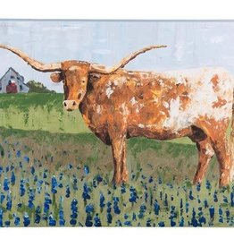 Texas Longhorn Small Canvas