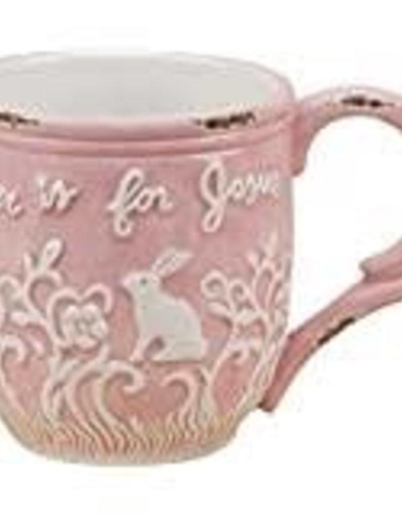 Easter is for Jesus Mug - Pink