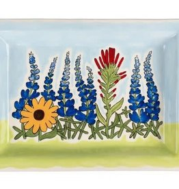 Wildflower Bluebonnet Tray