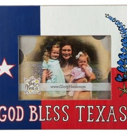 God Bless Texas Frame