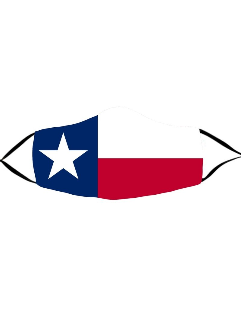 Face Mask- Texas Flag