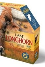 Madd Capp Puzzle - I AM Longhorn