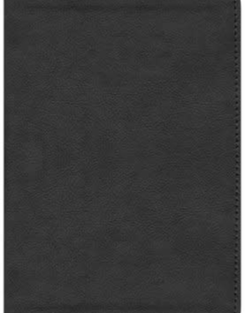 CSB He Reads Truth Bible, Black Leathertouch Imitation Leather, Indexed