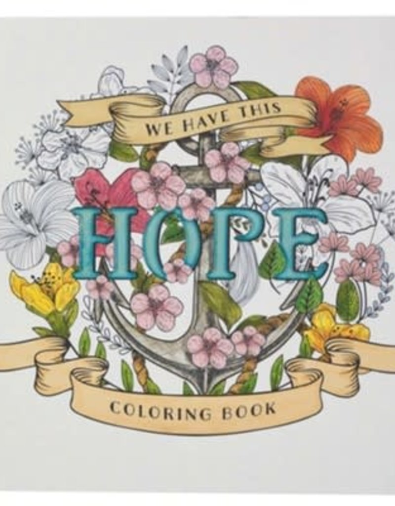HOPE Adult Coloring Book
