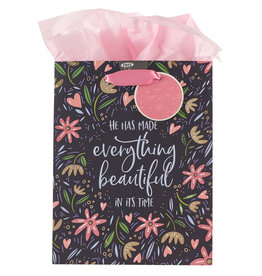 He Has Made Everything Beautiful Medium Gift Bag w/ Tissue Paper