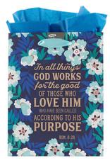 God Works For Good Medium Gift Bag  w/ Tissue Paper