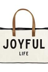 Tote-Canvas-Joyful Life