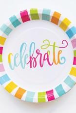 """Paper Plate Celebrate 10"""""""