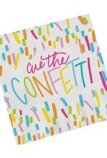 Cue the Confetti 20 Cocktail Napkins