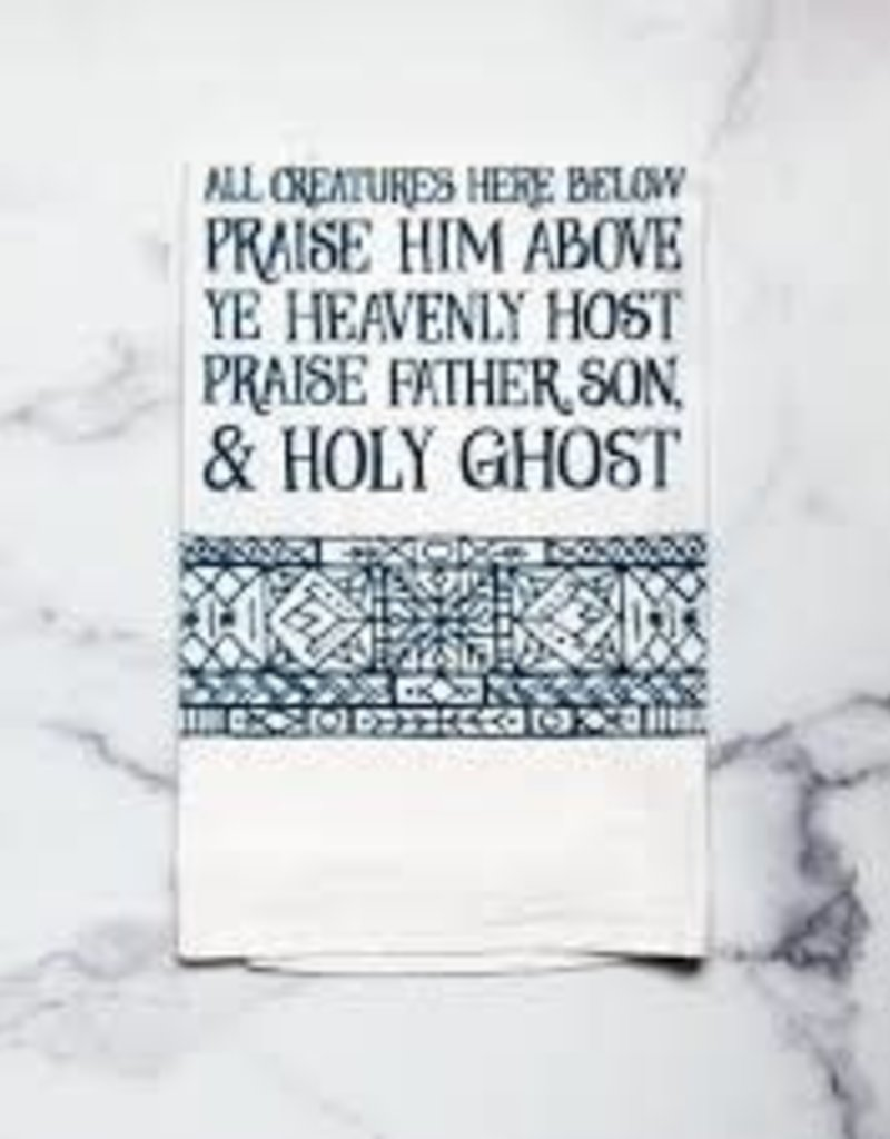 Doxologyl  Hymn Tea Towel