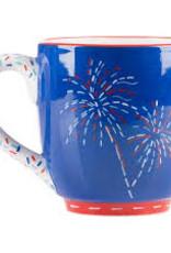 Let Freedom Ring Navy Mug