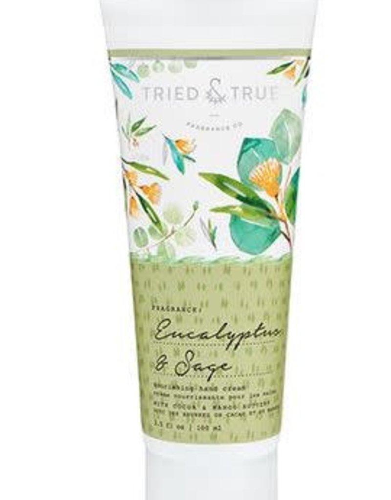 T&T Eucalyptus and Sage Hand Cream
