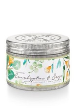 T&T Small Tin Candle - Eucalyptus & Sage