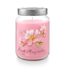 T&T Pink Magnolia Large Jar Candle