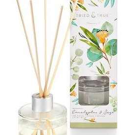 T&T Eucalyptus and Sage Reed Diffuser