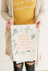 Happy People & Lots of Plants Flour Sack Towel