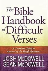 BIBLE HANDBOOK OF DIFFICULT VERSES