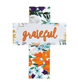 Easel Cross-Grateful