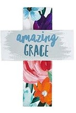 Easel Cross - Amazing Grace