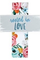 Easel Cross- Rooted in Love