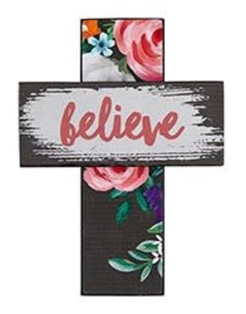 Easel Cross- Believe