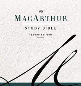 MacArthur Study Bible, 2nd Ed, Leathersoft Black