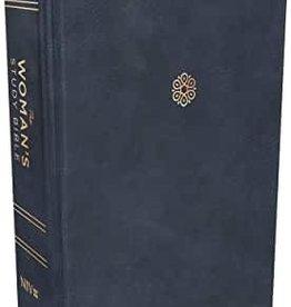 Woman's Study Bible, Leathersoft, Blue