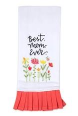 Best Mom Ever Embrd Tea Towel