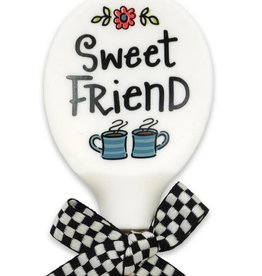 Sweet Friend Silicone/Wood Spoon