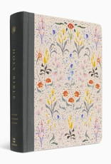 ESV Single Column Journaling Bible  Cloth over Board, Lulie Wallace, In Bloom