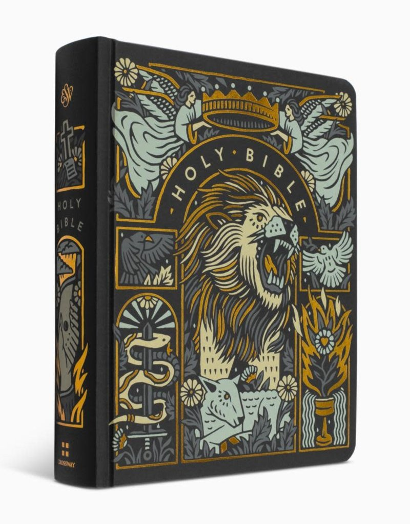 ESV Single Column Journaling Bible, Hardcover, The Lion and the Lamb