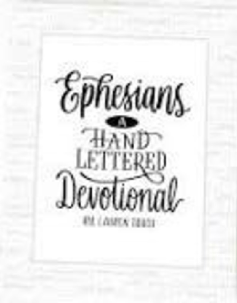 Ephesians: A Hand Lettered Devotional