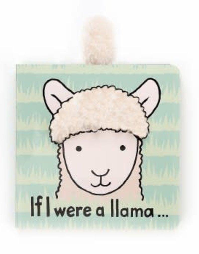 Jellycat-If I Were a Llama Book