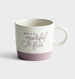 Mug Grateful & Free