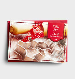 Cmas Boxed:  Simple Joy Cookies J0465