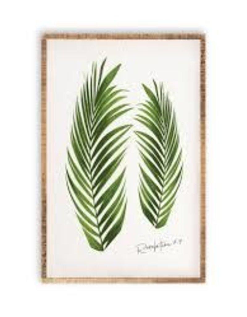 Botanical Greenery Wall Art- Palm