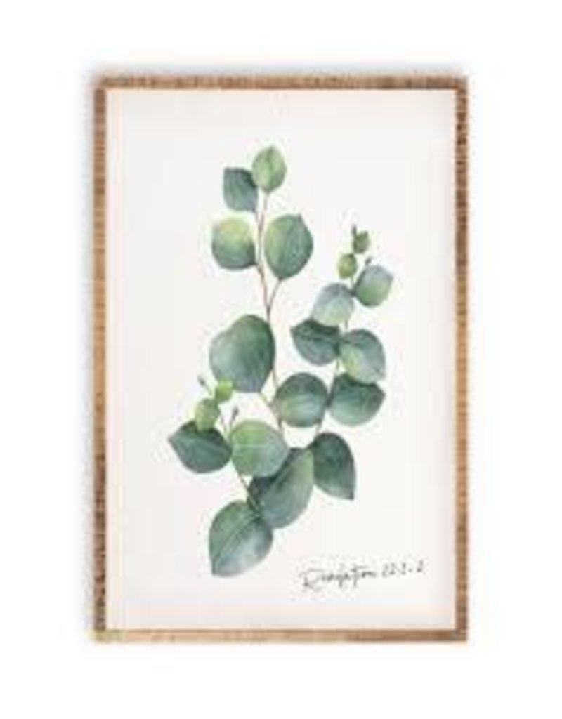 Botanical Greenery Wall Art- Eucalyptus