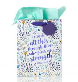 I Can Do All This - Phil 4:13 Medium Gift Bag